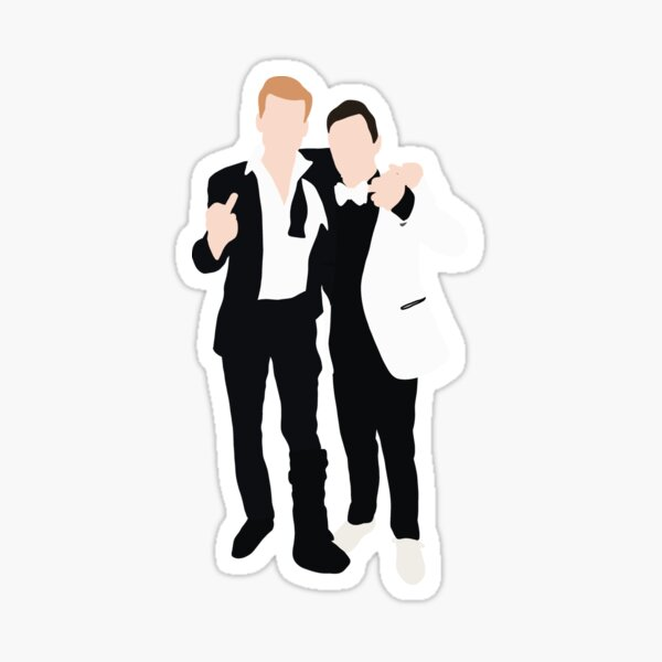 Gallavich Ian & Mickey Shameless Sticker