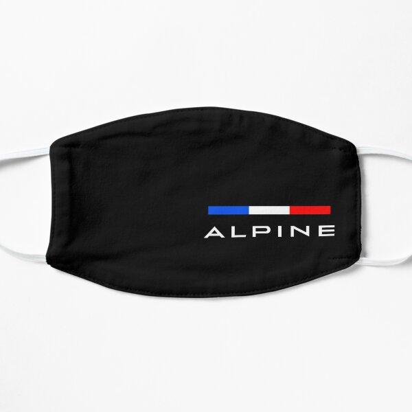 Couleurs de l'équipe Alpine F1 Masque sans plis
