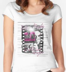 Photography - Take a photo It'll last longer Women's Fitted Scoop T-Shirt