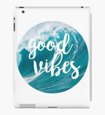 Good Vibes: Waves iPad Case/Skin