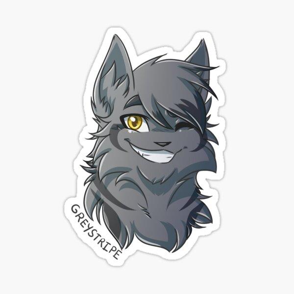 Warriors Stickers - Greystripe Sticker