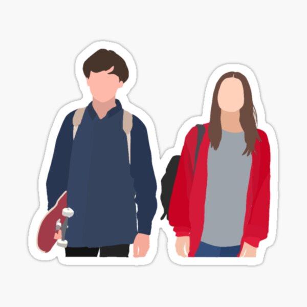 James and Alyssa Sticker