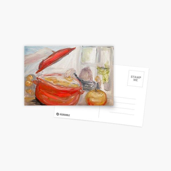 Cooking apples Postcard