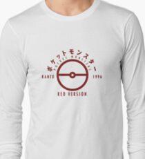 Pokemon Red Version Long Sleeve T-Shirt