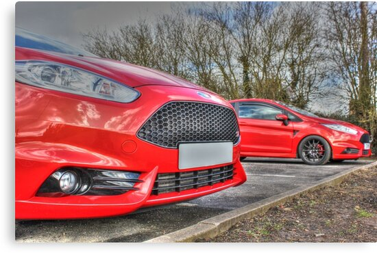 Mk7.5 Ford Fiestas by Vicki Spindler (VHS Photography)