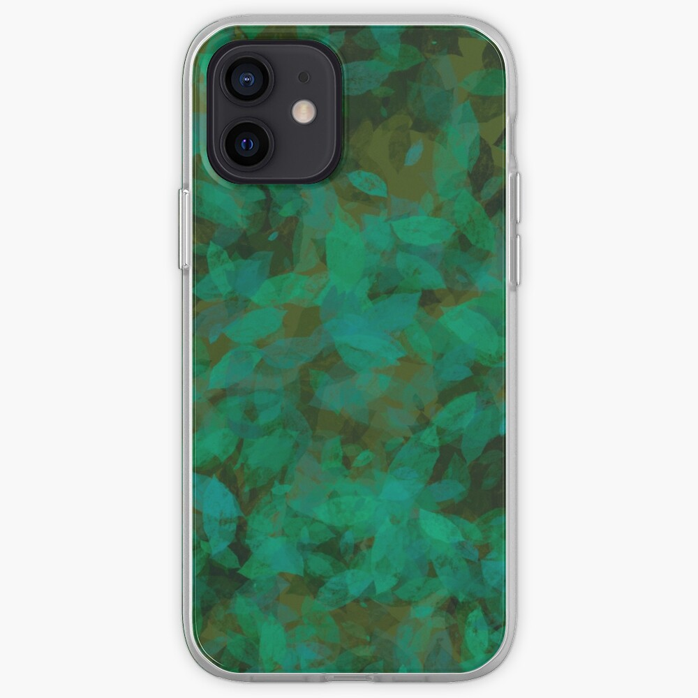 Earthy Green Leaves iPhone Case & Cover