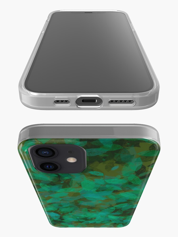 Alternate view of Earthy Green Leaves iPhone Case & Cover