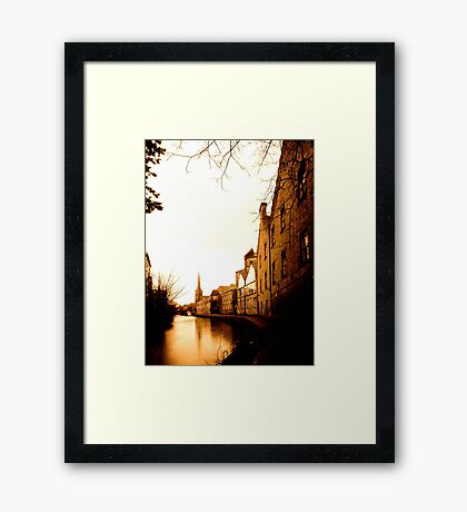 Lancaster Canal Framed Print