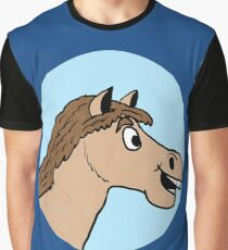 Horse Logo  Graphic T-Shirt