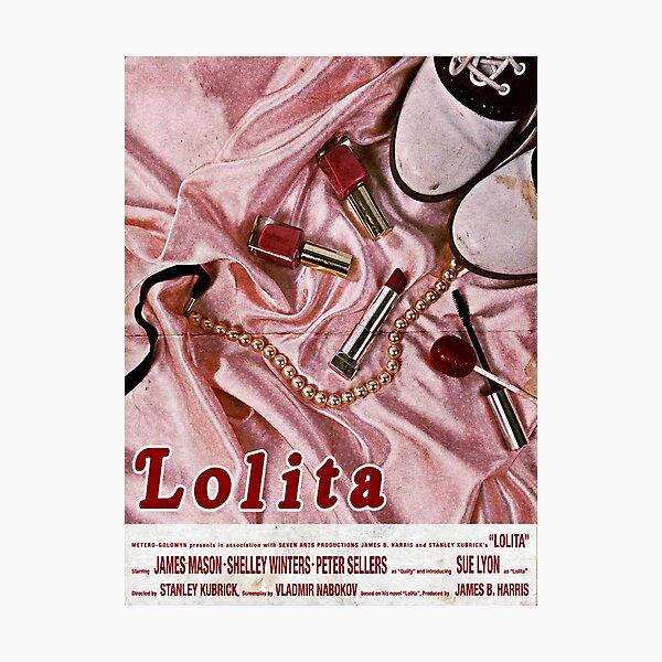 Lolita Movie Poster Photographic Print