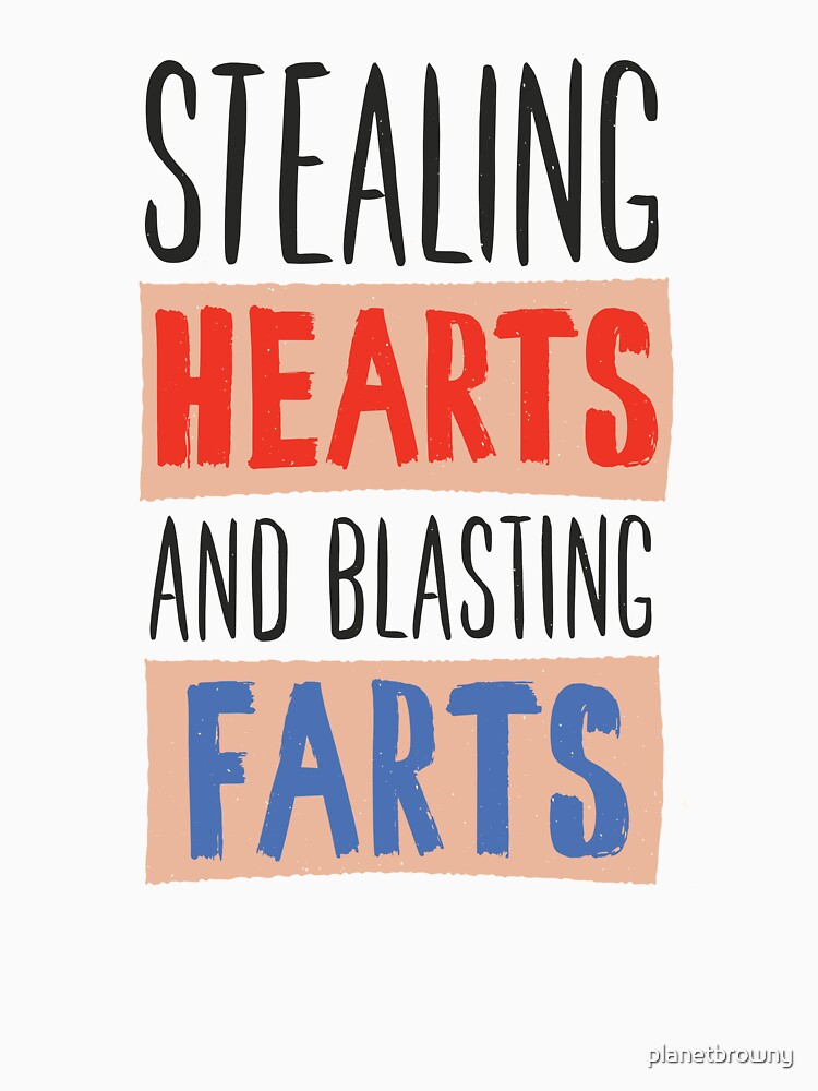 Stealing hearts and blasting farts von planetbrowny