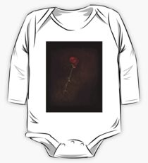 Blood Rose One Piece - Long Sleeve