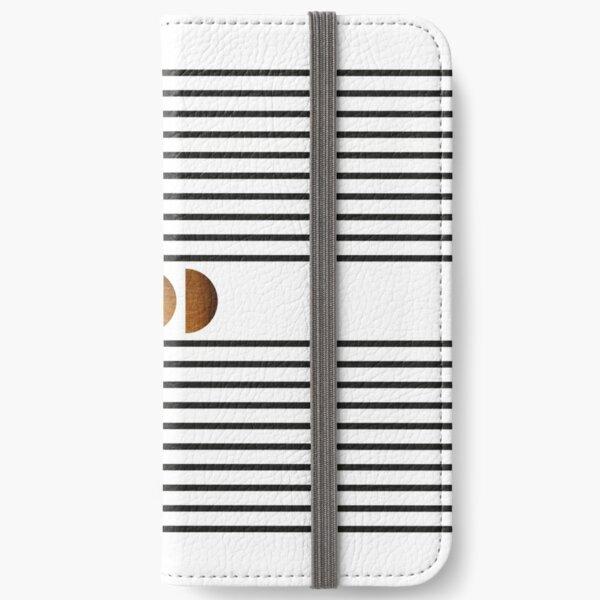 Mid century study no.18 iPhone Flip-Case