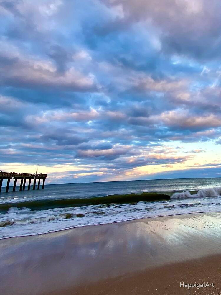 Saint Augustine Beach 1 by HappigalArt