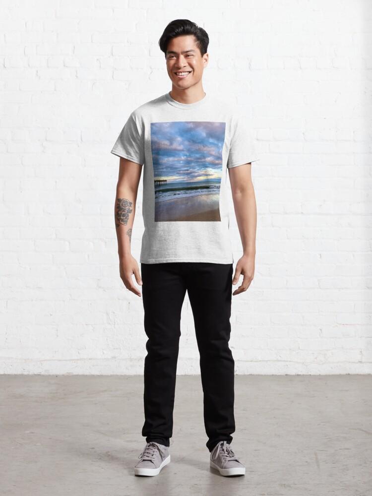 Alternate view of Saint Augustine Beach 1 Classic T-Shirt