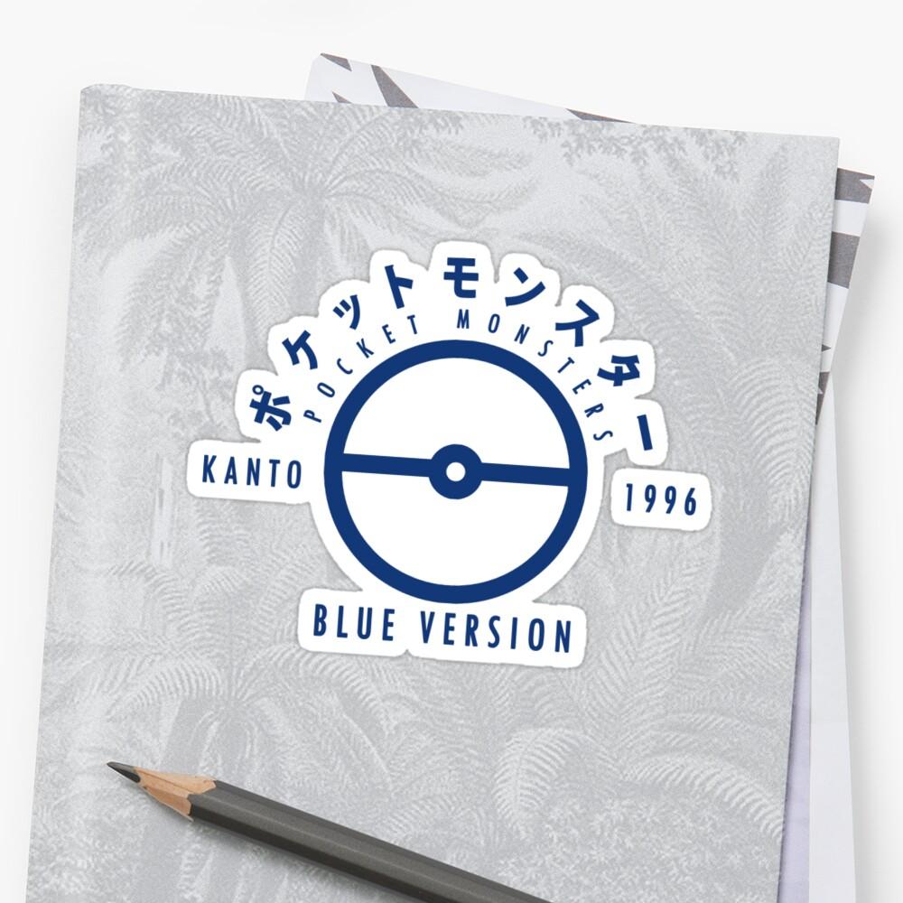 Pokemon Blue Version by Elysian© Shop