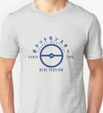 Pokemon Blue Version T-Shirt