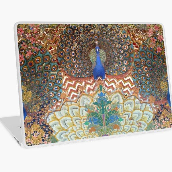 Peacock Design Indian Inspired Laptop Skin