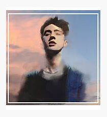 Troye Sivan digital painting Photographic Print