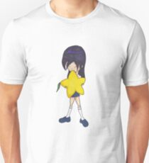 Chibi Kingdom Hearts 2 Kairi with giant paopu T-Shirt