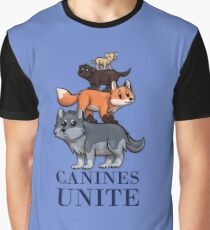 Canines Unite! Graphic T-Shirt