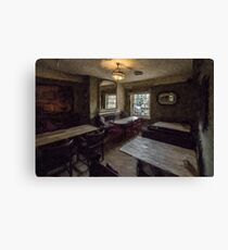Pub Lounge Canvas Print