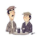 #02 A Pete & Dud Sketch by Ian Spendloff