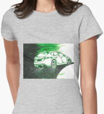 Subaru WRX STI car painting Womens Fitted T-Shirt