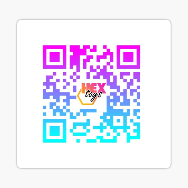 OPEN YOUR CAMERA APP & SCAN ME Sticker