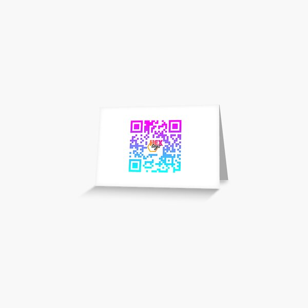 OPEN YOUR CAMERA APP & SCAN ME Greeting Card