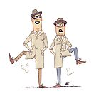 #04 A Reeves and Mortimer Sketch by Ian Spendloff