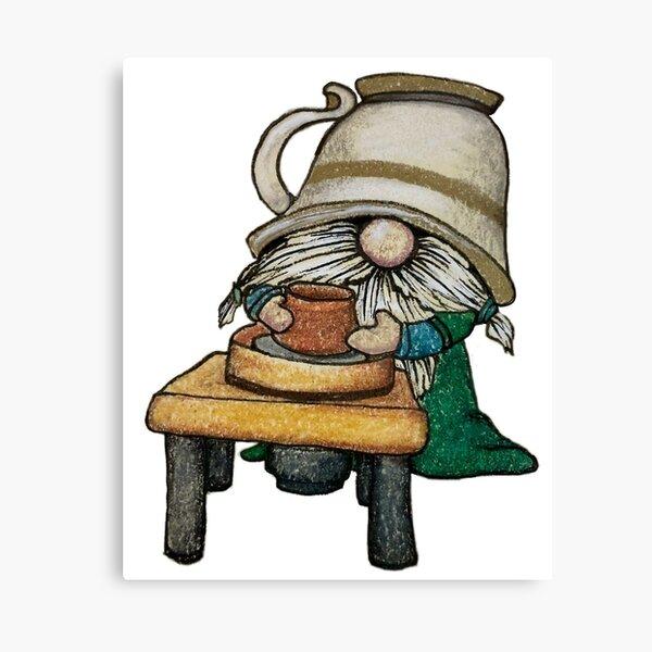 Gnome Potter Canvas Print