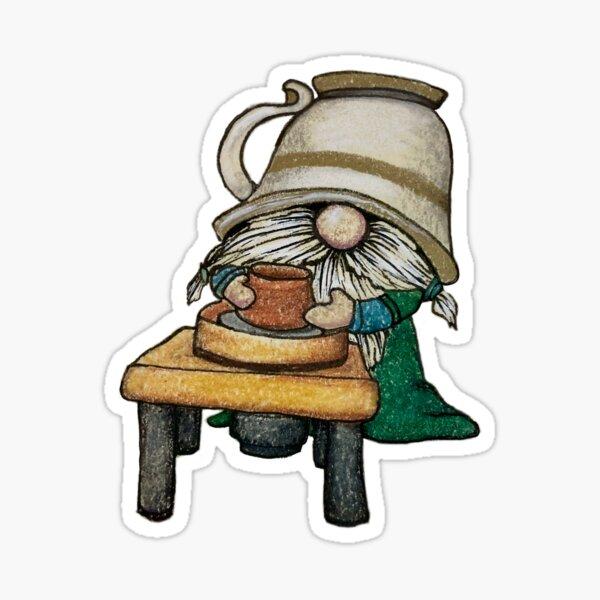 Gnome Potter Sticker