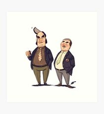 #05 A Reeves and Mortimer Sketch Art Print