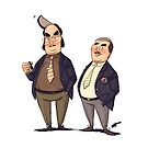#05 A Reeves and Mortimer Sketch by Ian Spendloff