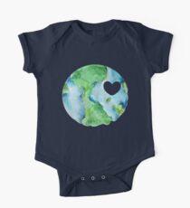 Tag der Erde Liebe Baby Body Kurzarm