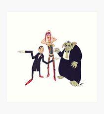 #07 A Monty Python Sketch Art Print