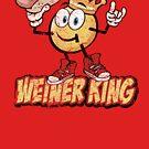 Weiner King T-Shirt von toddalan