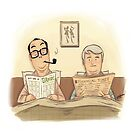 #09 A Morecambe and Wise Sketch by Ian Spendloff