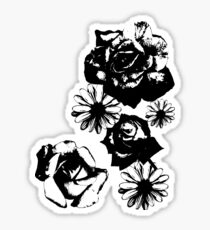 Rose and Daisy Mix Sticker