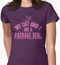 My cat and I are a package deal T-Shirt