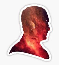 Ninth Doctor Galaxy Sticker