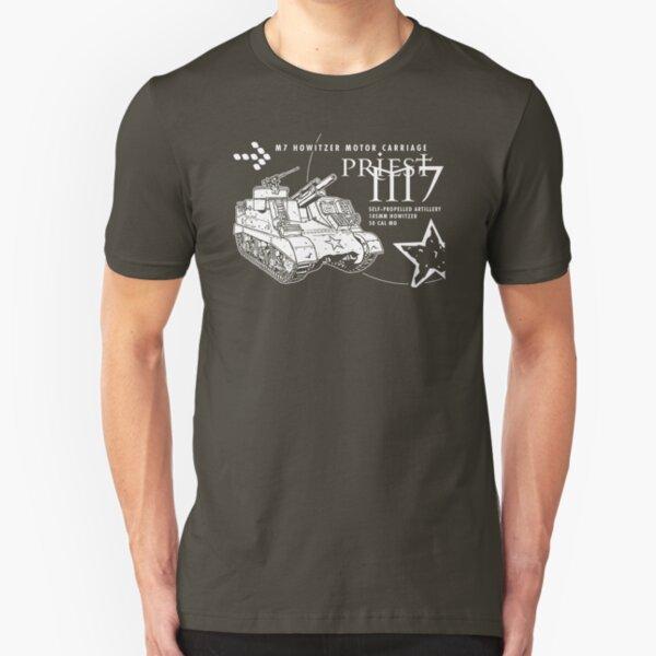M7 Howitzer - Priest Slim Fit T-Shirt