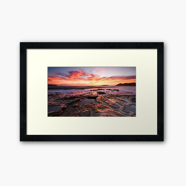 Sunrise Serenity Framed Art Print