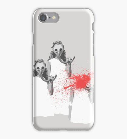 Gasmask Girl iPhone Case/Skin