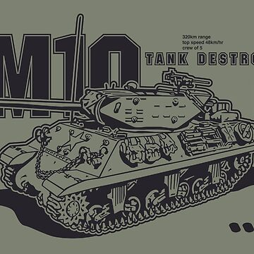 M10 Tank Destroyer by b24flak