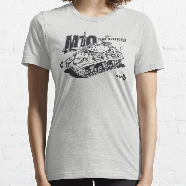 M10 Tank Destroyer Essential T-Shirt