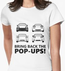 Bring back the pop-ups! Women's Fitted T-Shirt