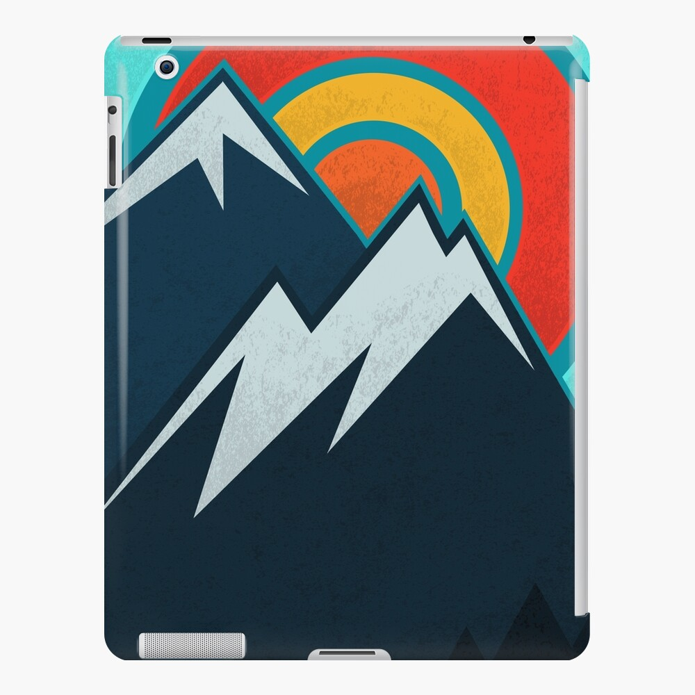 Estado de Colorado Funda y vinilo para iPad