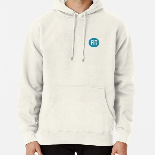 FIT Sticker TEAL Pullover Hoodie